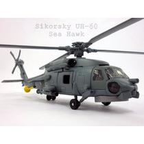 Helicoptero Sikorsky Uh-60 Sea Hawk Kit De Montar - Dtc