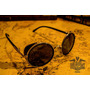 Lentes Steampunk Blinders Colores! Uv 400 Sagrario Obsidiana