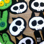 Parche Apliques Ropa Terror Calavera Zombie Souvenir Huesito