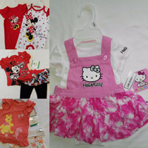 2 Conjuntos Para Bebitas Por $599