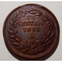 1 Centavo 1898 Mo República Mexicana - Única Águila Perfil