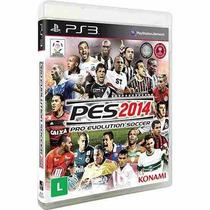 Pes 2014 14 - Midia Fisica - Futebol Times Brasileiros - Ps3