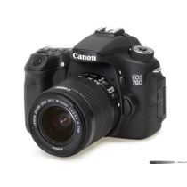 Canon 70d 18-135 Stm + Canon 50mm1.8 Stm+ 16gb + Bolsa