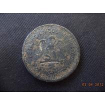 Moneda De 5 Centavos De Plomo Falso 1911