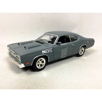 1971 Plymouth Duster Nos Edition 1/5000 Grey 1/18 Ertl
