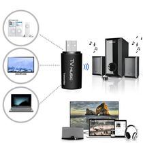 Transmisor De Audio Bluetooth 3.5mm Dongle Para Tv Mp3 Pc