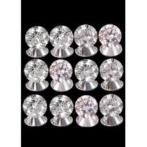 Lote C/ 10 Diamantes Brancos Totalizando 25 Pts Vs!!