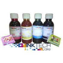 Tinta Vegetal Inktech Para Impresoras Epson De 100 Cc