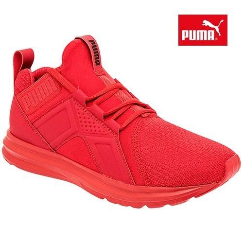 fccc855a4eb168 Tenis Puma Enzo Jr. Rojo De Mujer 22-25 W82609 -   1