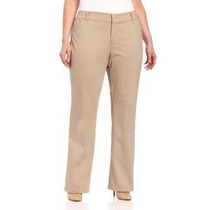 Padrisimo Pantalon Caqui Mujer Tallas Extras