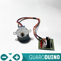 Motor Paso A Paso Unipolar Con Driver (arduino Pic)