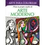 Arte Para Colorear - 6 Libros - Pinta Tu Propio Cuadro - V&r
