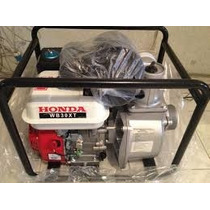 Motobomba Honda Wb30xt 8hp