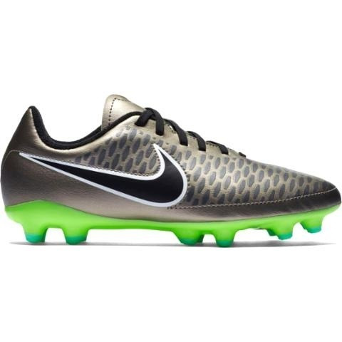 471866254fa2f Tacos Futbol Nike Magista Onda Plata Niños -   699.00 en Mercado Libre