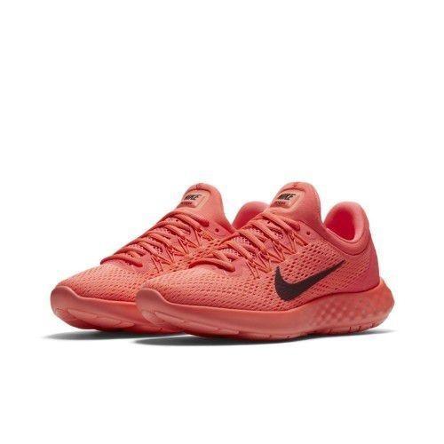 14e7ff4ae03 Tênis Nike Lunar Skyelux Rosa laranja marrom - R  274