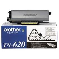 Toner Brother Tn620 Negro Rendimiento 3,000 Pag. Aprox. Para