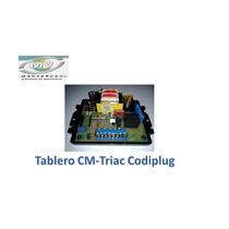 Tablero Controladora Cm Triac Codiplug 220v Motor Porton