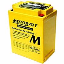 Bateria Honda Cb 750 - Motobatt Mbtx14au