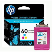Cartucho Hp Tricolor 60 100% Original