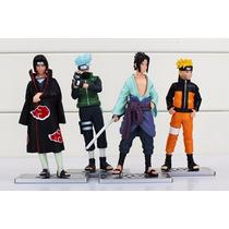 Bonecos Colecionaveis Naruto Decoração Brinquedos 4peças