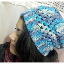 Gorro Tejido A Crochet, Diferentes Colores Y Modelos