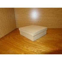 Caja De Fibrofacil De 15x15x5 Con Tapa Zapato X 10 Unidades