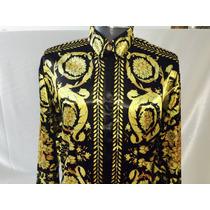 Camisa De Seda Gianni Versace, Versace De Coleccion Retro