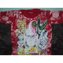 Playeras Dragon Ball Z Goku Cell Brolyn Boo Talla 2-4 Niño