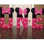Letras Mdf Decoradas Para Cumpleaño Bautizo Candybar Baby