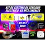 Cerco Electrico Kit 85 Mts 5 Lineas Listo Para Instalar