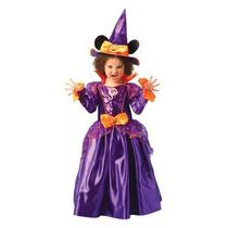 Disfraz Minnie Bruja Halloween Original Envío Int
