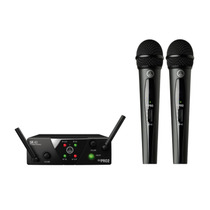 Microfone Sem Fio Akg Wms40 Mini Dual Vocal Set