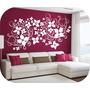 Vinilos Decorativos Motivo Florales Y Mariposas Salas Cuarto