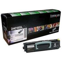 Cartucho Original Lexmark E230 E240 E330 E340 24018sl 2.5k