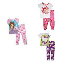 Pijamas De Niña Importadas Princesita Sofia, Kitty, Fresita