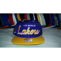 Gorra Snapback Mitchell And Ness Los Angeles Lakers