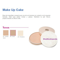 Base Compacta Make Up (panque) Mon Reve Con Esponja
