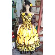 Roupa Cigana Amarela