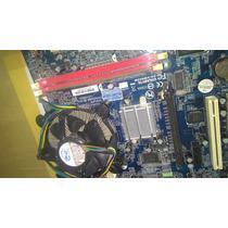 Kit Placa Mãe Gigabyte Ga-vm900m,1gbmem, Proce Intel Dual Cr