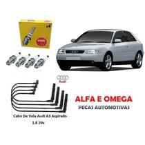 Kit Jogo Cabo+vela Audi A3 1.8 20 Valvula Aspirado