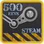 Steam 500 Jogos Pc Cd-keys Oferta Diversão Garantida Atacado