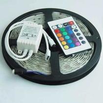 Tira Led Con Control Colores 5050 Rgb 300 Leds Exterior Hm4