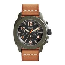 Relógio Masculino Fossil Machine Fs5035/0vn - Original