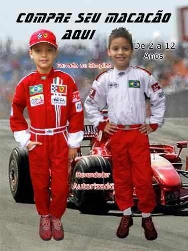 67d474aa91 Macacão De Piloto De Formula 1    Carros    Festa    - R  119