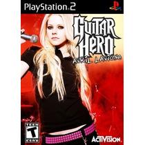 Comprar Jogo Patch Avril Lavigne Guitar Hero Ps2 Play 2 Ps 2