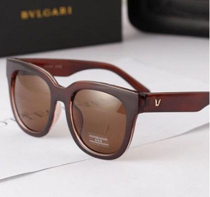 Óculos De Sol Para Mulher Retrô Marrom Feminino Importado - R  41,19 ... 7ce3e361fe