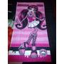 5 Toalhas De Banho Felpuda Monster High 1,20m X 60cm Lepper