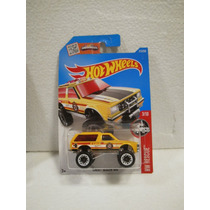 Hot Wheels Camioneta Chevy Blazer 4x4 Amarillo 213/250 2016