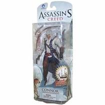 Connor Assassins Creed Boneco Oficial Ubisoft Pvc Articulado