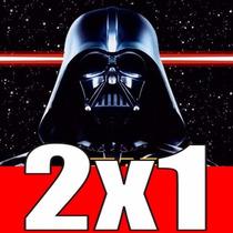 Kit Imprimible Star Wars Darth Vader, Invitaciones Y Mas